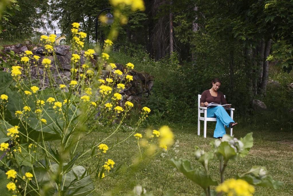 ヤナッカラ、ヴィッラゴース、自然の平穏、静けさ、のんびりする、体験